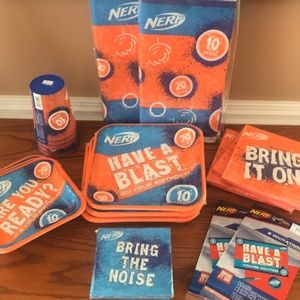 Nerf theme party supplies